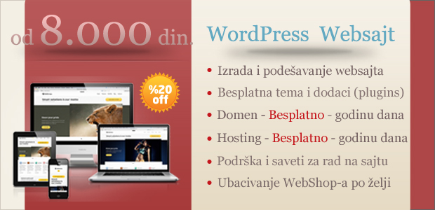 wordpress websajt